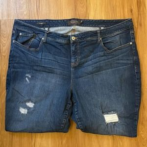 Torrid Distressed Skinny Jeans - Great Condition
